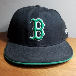 New Era 59Fifty MLB Cap Boston Red Sox Black Green